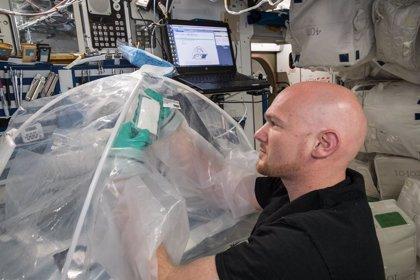 La NASA consigue producir cemento en el espacio