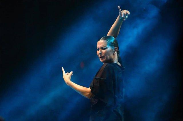 Sara Baras inaugura la sexta edición del Festival Flamenco on Fire
