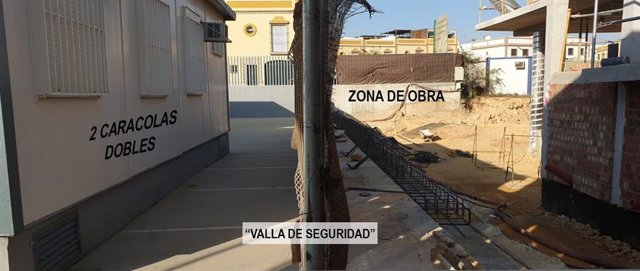 Situación denunciada por la AMPA del colegio Rodríguez Almodóvar