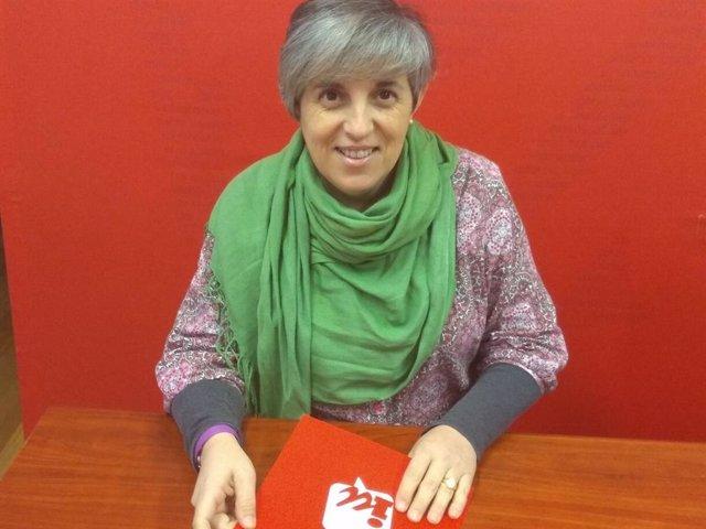 Leticia Martínez, coordinadora de IU