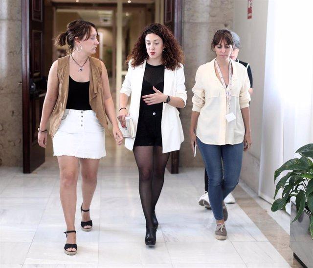 La diputada de En Comú Podem, Aina Vidal