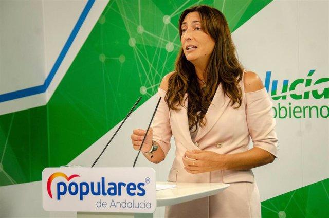 La secretaria general del PP-A, Loles López, en una imagen de archivo.
