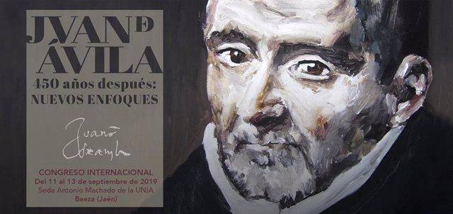 Cartel del Congreso sobre Juan de Ávila