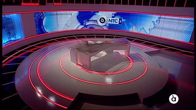 Plató de 'À Punt NTC'