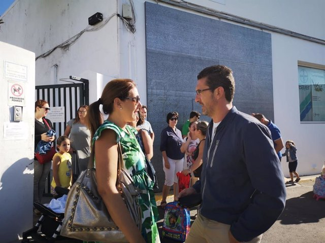 El secretario del AMPA del Colegio Sánchez Arjona de Paterna del Campo (Huelva).