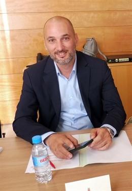 El concejal de Empleo, Promoción Económica y Turismo en el Ayuntamiento de Murcia, Pedro García Rex