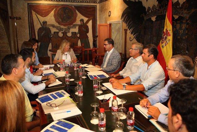 Reunión Ayuntamiento de Marbella y Delegación de Salud