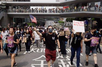 China.- La Policía de Hong Kong anuncia nuevas medidas para sofocar las protestas