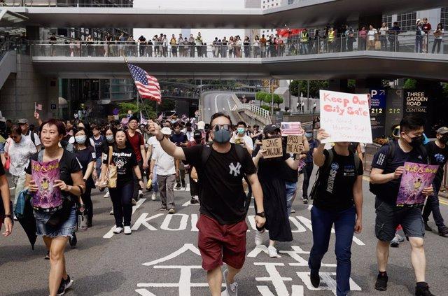 China.- La Policía de Hong Kong anuncia nuevas medidas para sofocar las protesta