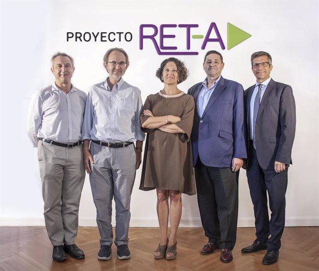 Representantes del protecto RET-A