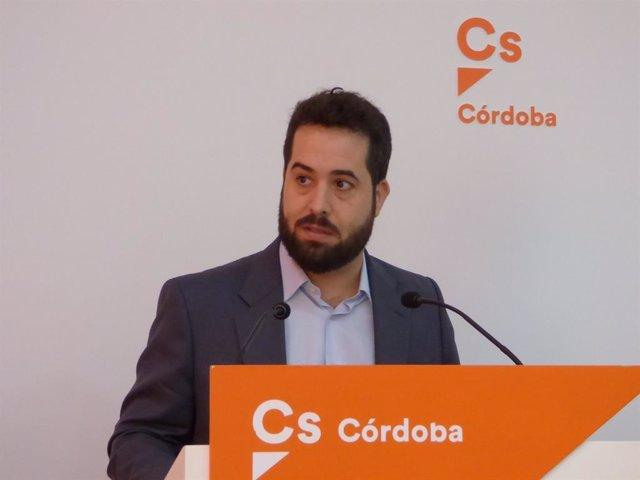 El parlamentario andaluz de Cs por Córdoba, Fran Carrillo