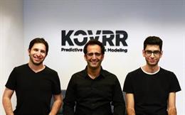 El VP R&D de Korvv, Avi Bashan; el Ceo, Yakir Golan, y el CRO, Shalom Bublil.