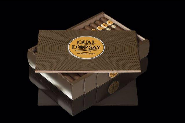 Habanos, S.A., a través de su distribuidor exclusivo para Francia, Coprova y Seita Cigares, presentará en primicia mundial la Edición Limitada Quai D'Orsay Senadores (cepo 48 x 157 mm de largo).