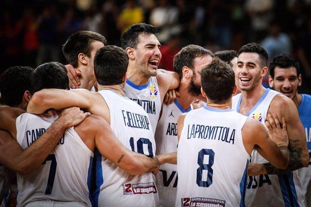 Baloncesto/Mundial.- Crónica del Argentina - Serbia, 97-87