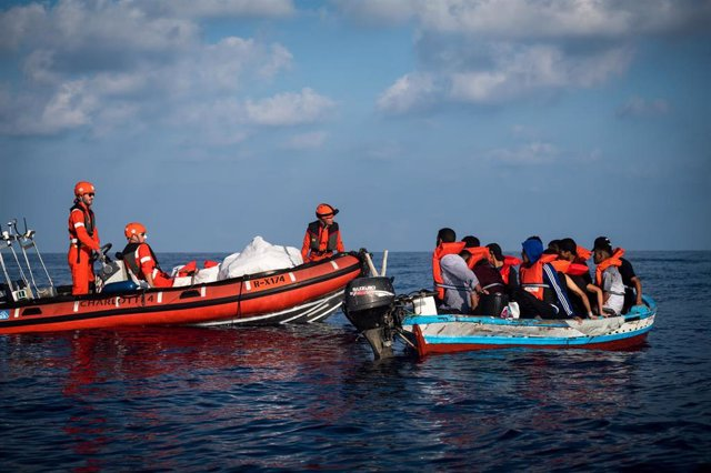 Rescate de migrantes por parte del 'Alan Kurdi'