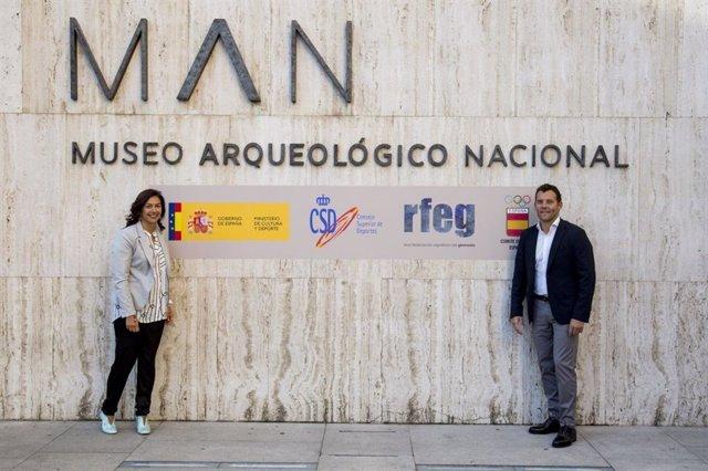 María Jose Rienda y Jesús Carballo