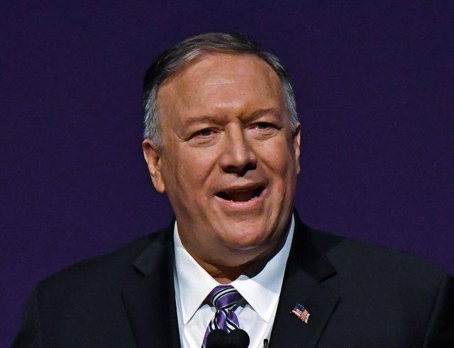 "Irán.- Pompeo sugiere que Irán tiene ""material o actividades nucleares no declar"