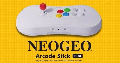 Portaltic.-SNK presenta su NEOGEO Arcade Stick Pro, un mando y a la vez consola retro con 20 juegos preinstalados