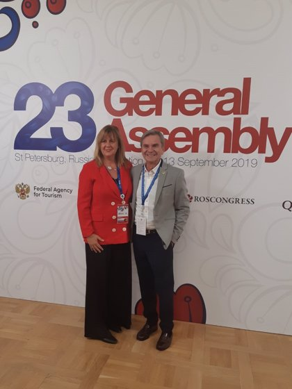 Málaga asiste por primera vez como miembro afiliado a la asamblea general de la Organización Mundial del Turismo