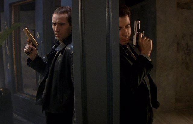 Nicolas Cage y Joh Travolta en Cara a Cara