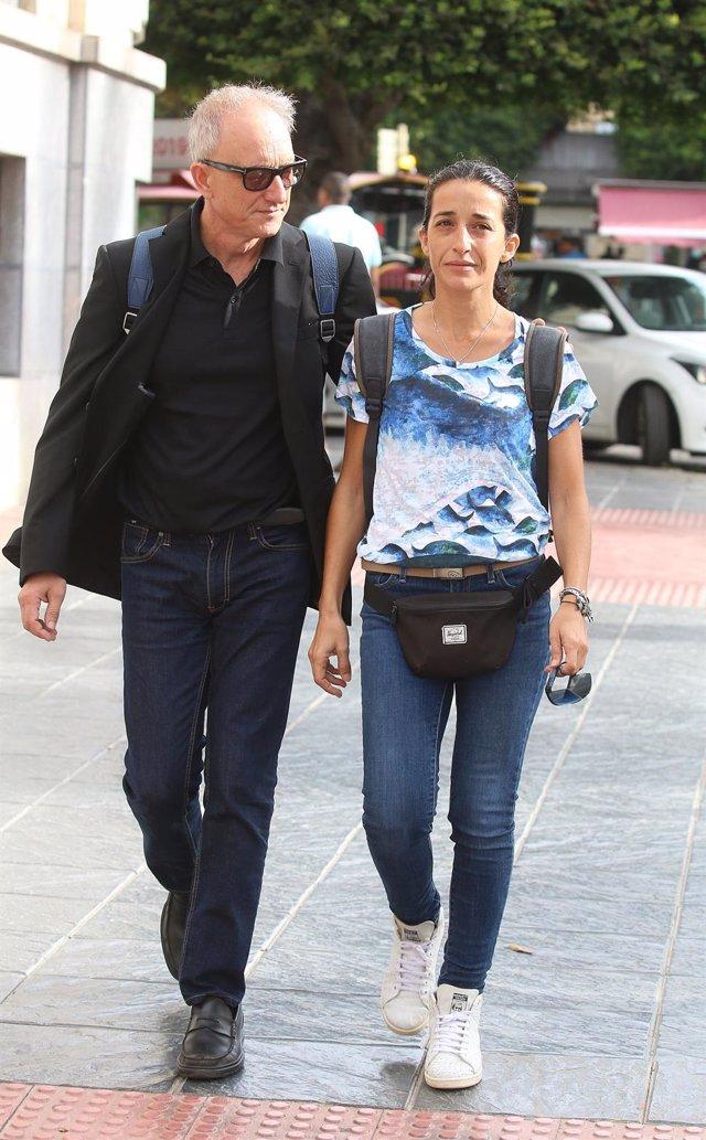 Patricia Ramírez, madre del niño Gabriel Cruz, llega a la Audiencia Provincial de Almería, en la segunda sesión del Juicio contra Ana Julia Quezada.