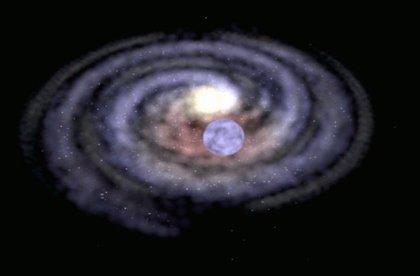 Estrella desbocada por posible acción de un agujero negro de masa media