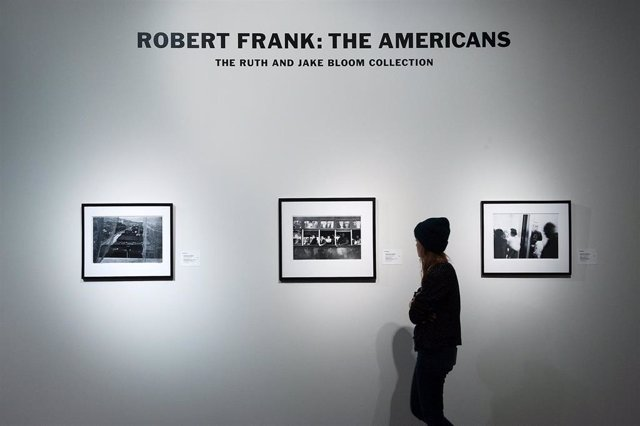 """Rare Robert Frank Prints From """"The Americans"""" Auctioned At Sotheby's In New York"""