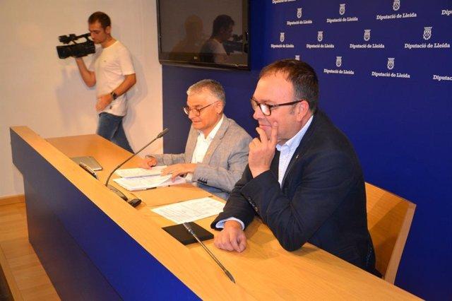 Jordi Latorre y Joan Giralt