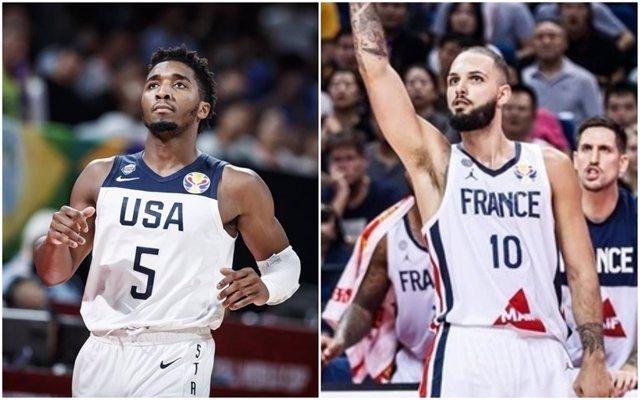 Mitchell (Estados Unidos) y Fournier (Francia)