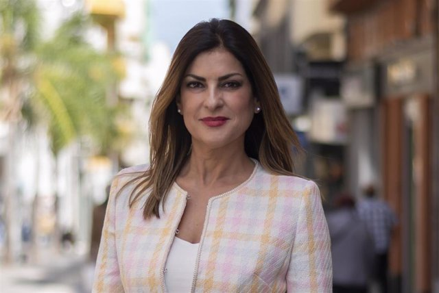 Matilde Zambudio, primera teniente de alcaldesa de Santa Cruz de Tenerife