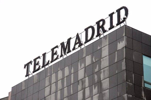 Imagen de recurso del exterior de la sede de Telemadrid