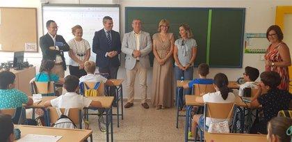 Junta destaca que el curso en Cádiz cuenta con mejora de las infraestructuras, más docentes y menos ratio por aula