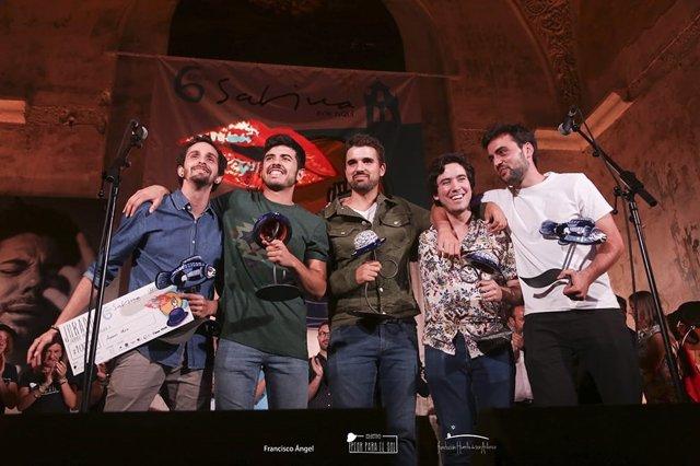 Jaén.- Amaury Muro y Fernando Macías ganan el VI Certamen de Cantautores Sabina
