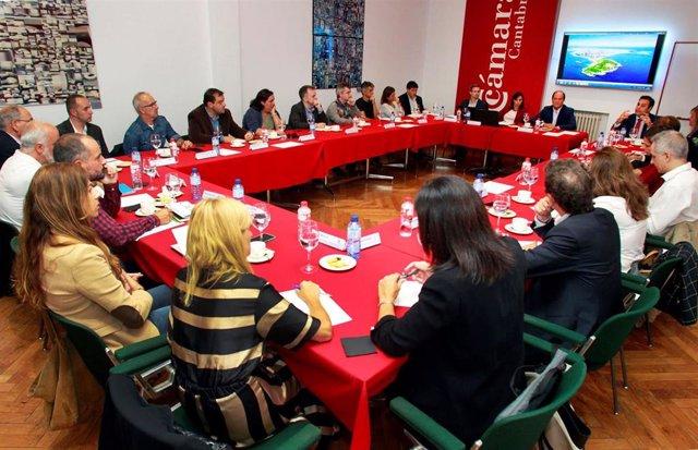 Reunión Climate-KIC en la Cámara de Comercio