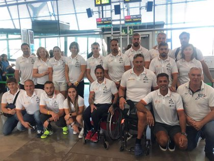 Los piragüistas españoles llegan a Tokio para probar las instalaciones de los Juegos
