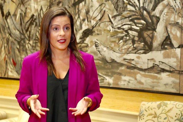 Yaiza Castilla, consejera de Turismo del Gobierno de Canarias