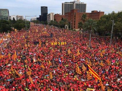 Partidos, entidades y Govern llaman a movilizarse en una Diada marcada por la sentencia