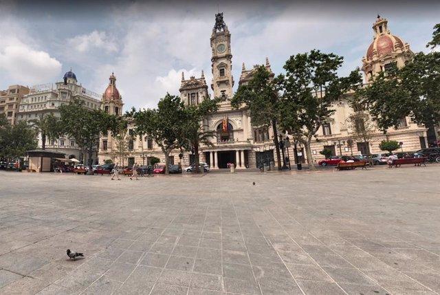 Plaza del Ayuntamiento de Valncia