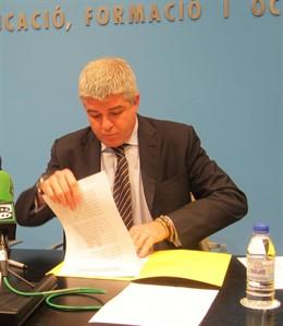 El Director General De RTVV, José López Jaraba