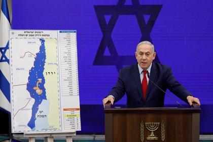 Dos cohetes lanzados desde Gaza obligan a Netanyahu a interrumpir un acto electoral
