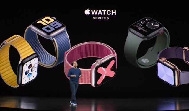 Apple presenta sus Apple Watch 5 y renueva los iPad con un nuevo modelo de 10,2