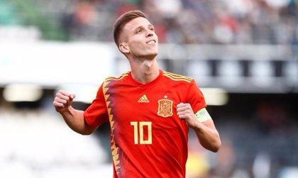 Dani Olmo liquida a Montenegro en cinco minutos