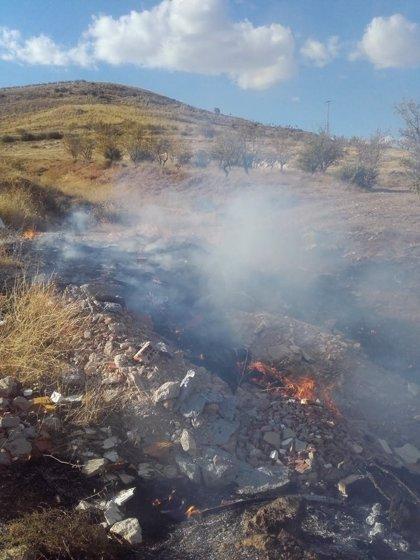 Registrado un nuevo incendio en la planta de residuos vegetales de Motril (Granada)