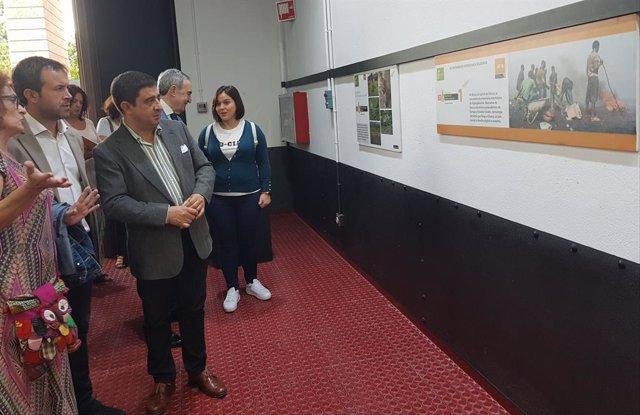 Inauguración del IX Certamen de Fotografía Solidaria en Jaén