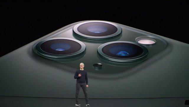 VÍDEO: Apple potencia la cámara de su iPhone 11 Pro con una tercera cámara gran