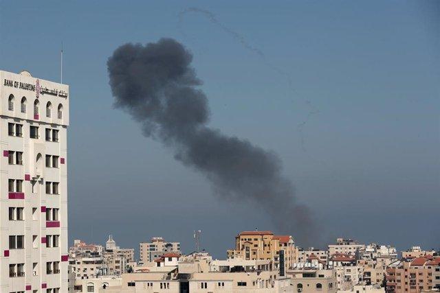 Ataque israelí sobre la Franja de Gaza