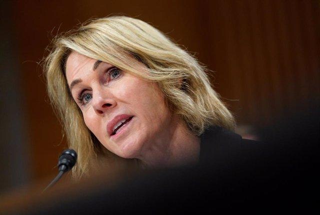 La embajadora de EEUU ante la ONU, Kelly Craft