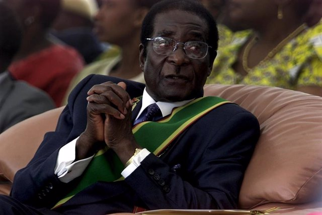 El expresidente de Zimbabue Robert Mugabe.