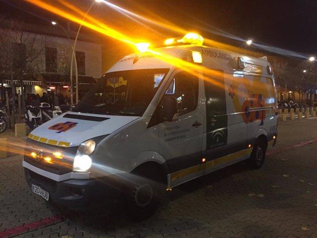 Ambulancia de EPES 061, en una imagen de archivo