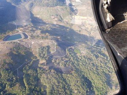 Los incendios de Aldeanueva y Villanueva de la Vera se mantienen activos y con nivel 1 de peligrosidad